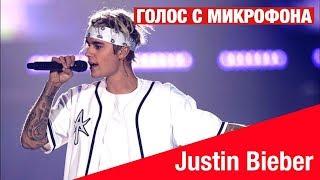 Голос с микрофона: Justin Bieber - What do you mean (Голый голос)