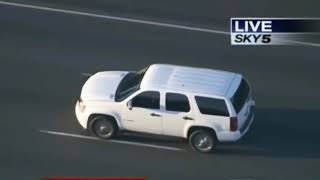 Los Angeles Insane High Speed Police Chase Over 100 MPH