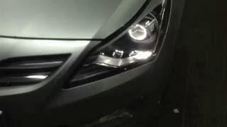 Установка линз тюнинг фар Hyundai Solaris смотреть