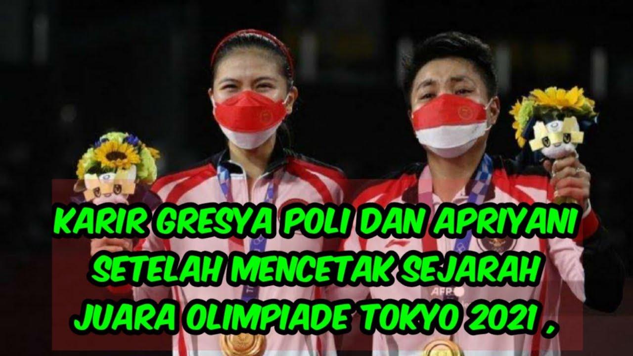 sukses di olimpiade tokyo begini nasib apriyani dan gresya