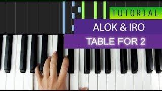 Baixar Alok & IRO - Table For 2 - Piano Tutorial + MIDI Download