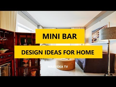 45+ Awesome Mini Bar Design Ideas for Home 2017
