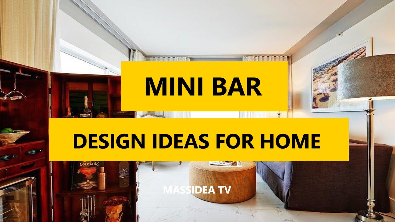 45+ Awesome Mini Bar Design Ideas for Home 2017 - YouTube