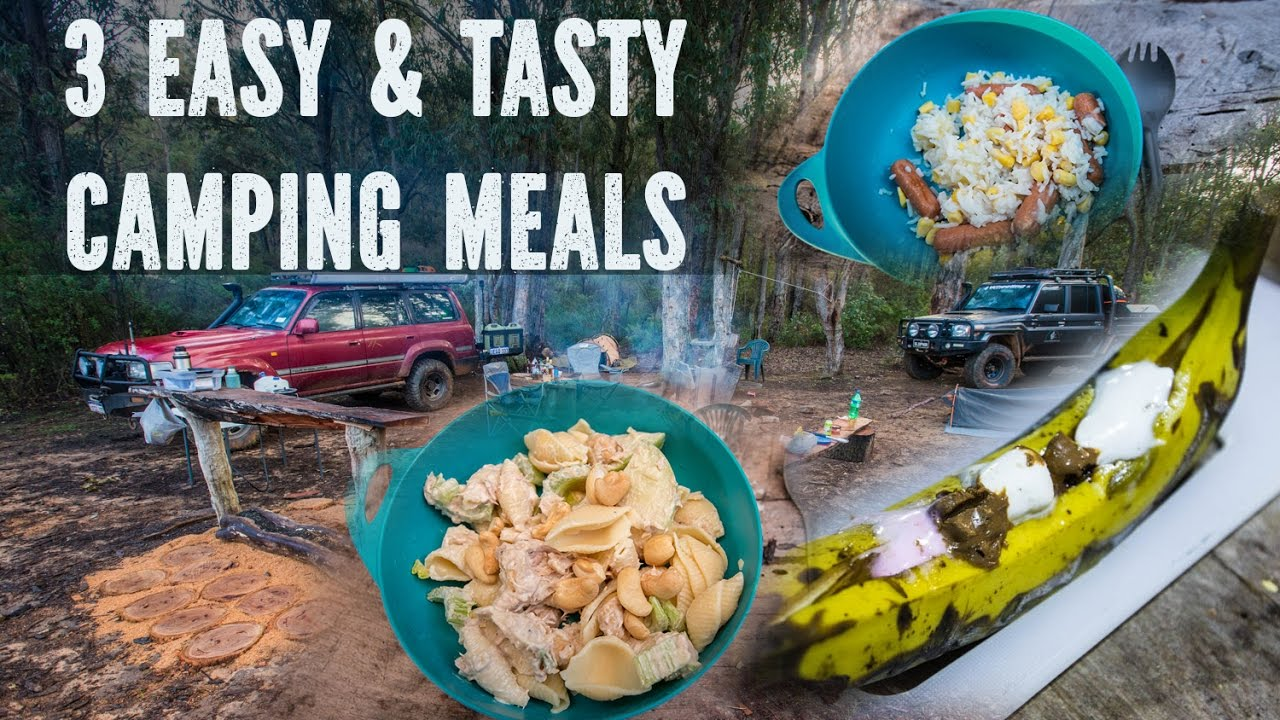 Camp Cooking 3 Easy Meals - YouTube