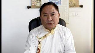 西藏人民议会议长藏曆鐵鼠新年賀詞