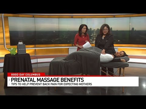 Benefits of Prenatal Massage with Drew Good Day Columbus