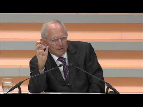 Symposium - Dr. Wolfgang Schäuble