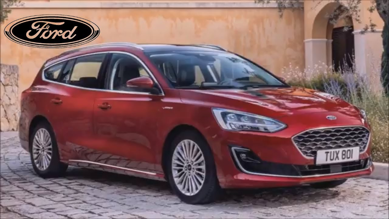 2019 Ford Focus Vignale Wagon Drive Interior And Exterior