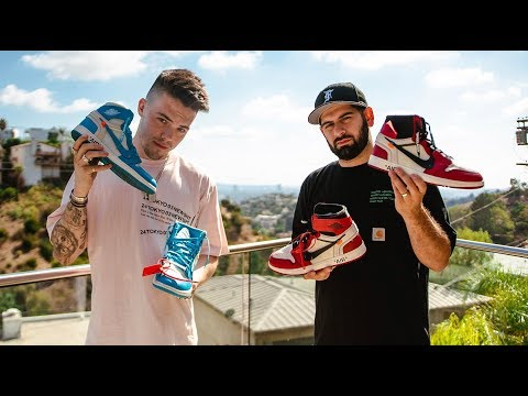 FAZE ADAPT SHOWS HIS CRAZY SNEAKER COLLECTION!! *INSIDE FAZE HOUSE*