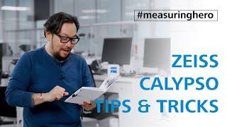 #measuringhero | Episode 64: ZEISS CALYPSO Tips \u0026 Tricks (2)