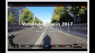 EuroEyes Velothon Berlin 2017 - 60km - Startblock E (komplettes Rennen)