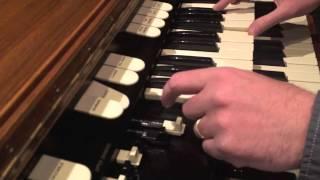 Hammond L100 demonstration