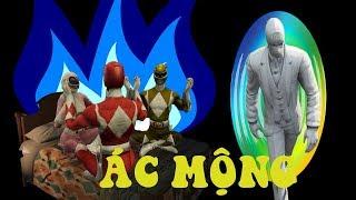 GTA 5 - 5 Anh em siêu nhân giải cứu Gao đen khỏi Mộng ma|GHTG