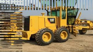 used construction equipment sales,small grader,cat 12g grader for sale