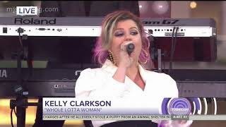 Kelly Clarkson - Whole Lotta Woman - Today - International Day of the Girl