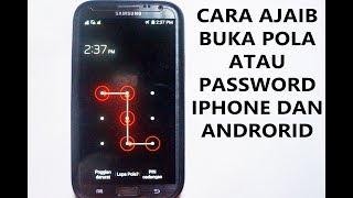 Cara Ajaib Buka Pola/Password Iphone & Android Kalau Lupa - abracadaBRO Magic Prank Indonesia