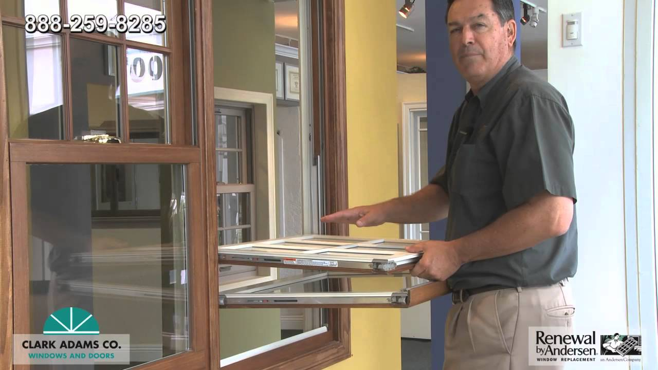 How To Clean A Renewal By Andersen Double Hung Window