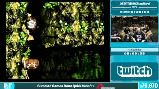 Donkey Kong Country 3 Lost World by RaikouRider in 17:18 - Summer Games Done Quick 2015 - Part 9