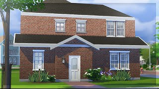 the sims 4   speed build little red starter fixer upper