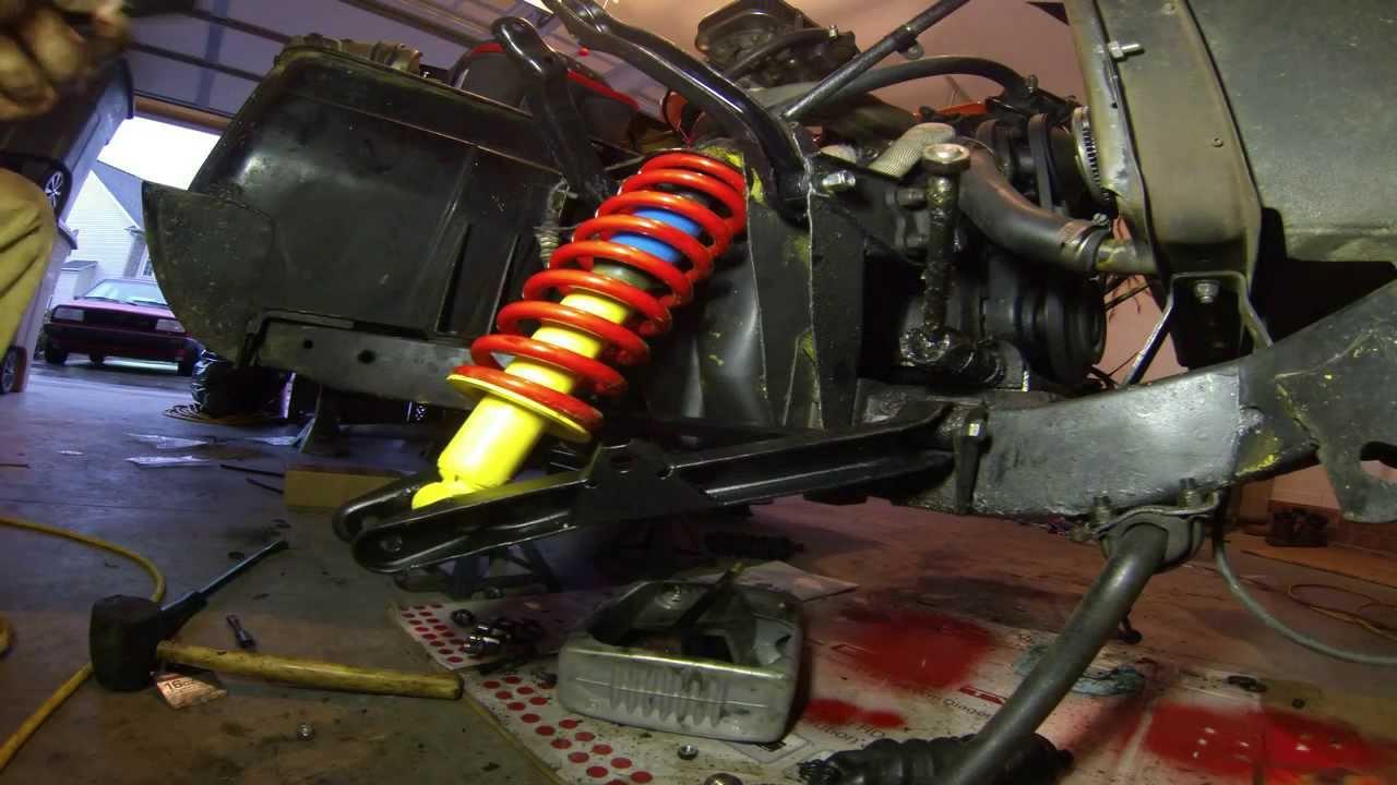Triumph Spitfire Front Suspension Time Lapse