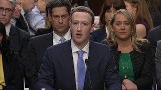 Mark Zuckerberg appears before skeptical lawmakers amid Facebook privacy scandal