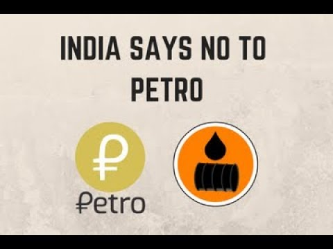 India won't use Petro cryptocurrency to pay for Venezuela's discounted crude oil (Hindi)