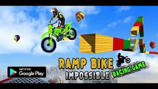 Ramp Bike Impossible Racing Game