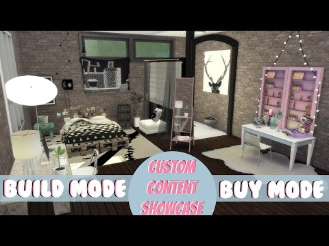 The Sims 4: Build/Buy CC Showcase W/ CC LINKS