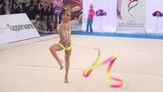 Терновская Кристина  7 лет лента Kiev Sprint Cup 2016