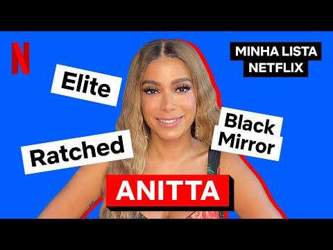 Minha Lista Netflix com Anitta   Netflix Brasil