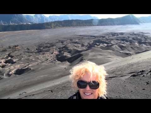 Active Mount Bromo, Java, Indonesia. November 2014