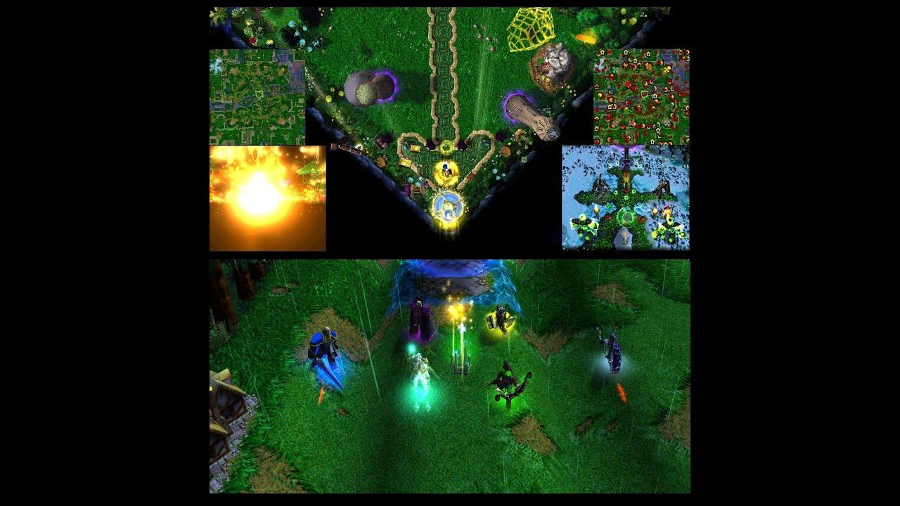 Карты на Warcraft 3 Frozen Throne