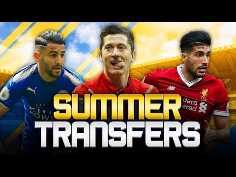 SUMMER TRANSFERS! w/ BAYERN DENY LEWANDOWSKI RUMOURS! - FIFA 18 ULTIMATE TEAM