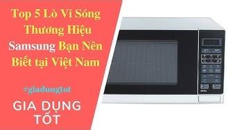 Top 5  Lò Vi Sóng Thương Hiệu Samsung Bạn Nên Biết Tại Việt Nam - Gia Dụng Tốt AZ.