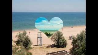 Пансионат Азов в Краснодарском крае - отдых на Азовском море 2017(Азовское море прогревается раньше Чёрного моря и купаться можно с апреля, самый лучший и очень уютный песча..., 2015-10-11T11:46:14.000Z)