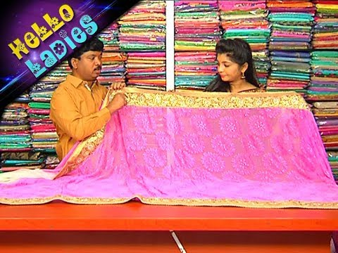 Exclusive Regular Wear Kuppadam & Linen Fabric Sarees || Hello Ladies || Vanitha TV