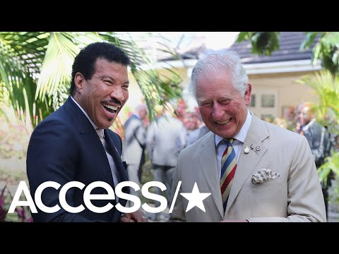 Morris Knight - Prince Charles Has Lionel Richie Cracking Up When He Did This!