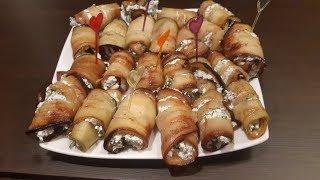 BLOG.Кулинария! Салат из баклажанов с творогом