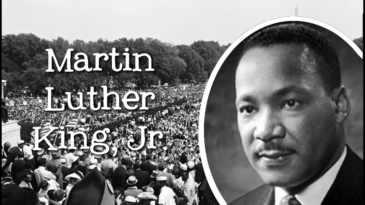 an analysis of martin luther kings as a peaceful protests against narrow minded white supremacists Students' hostility towards free speech has gone interrupted an otherwise peaceful protest of more windows in the martin luther king jr student.