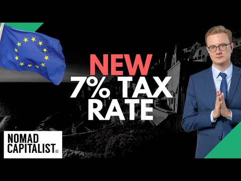 Greece's New 7% Tax Rate on Pensions