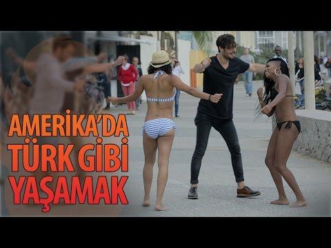 Living like a Turkish guy in U.S.A. - Turkish Comedian Hayrettin