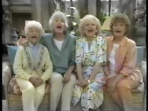 The Golden Girls  Comic Relief 1987