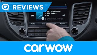 Hyundai Tucson SUV 2018 infotainment and interior review | Mat Watson Reviews