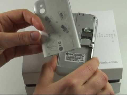 LG Electronics KM900 Arena Test Erster Eindruck