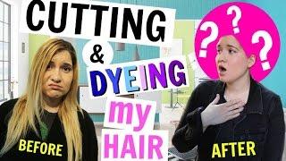 Cutting & Dyeing My Hair!