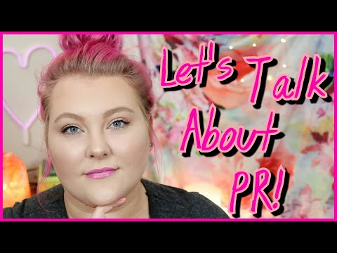 All About PR: My Thoughts, How I Run My Channel, My Experiences + Creator Advice! // Tube Talk!