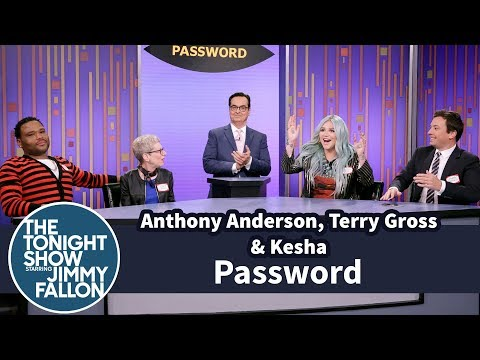Download Youtube: Password with Anthony Anderson, Terry Gross and Kesha