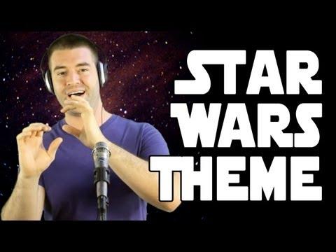 0 Música tema do Star Wars feita com a voz