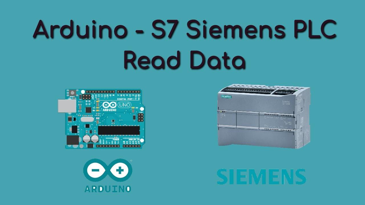 Arduino - Read Data from S7 Siemens PLC