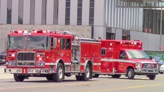 (New Engine & Rescue) Long Beach Fire Dept. Engine & Rescue 1